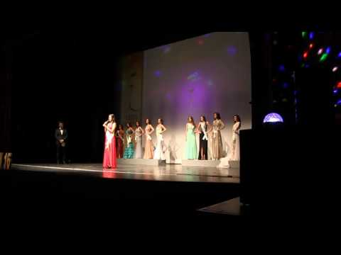 Gala Final Miss Grand Spain 2016 en Sevilla.  Elección del Top5. Canción de Guillermo Estad.
