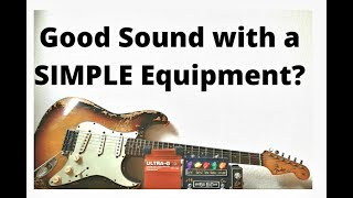 Good Fender Stratocaster sound with a simple equipment without an amp???