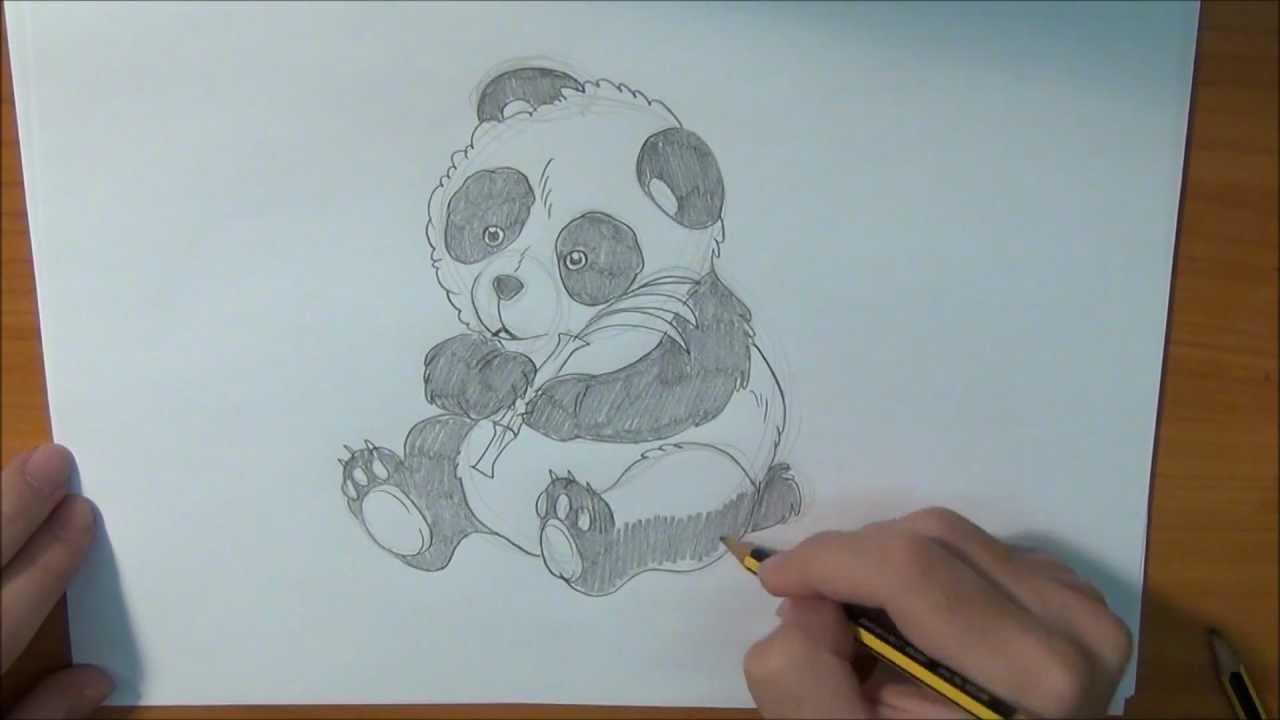 Aprende a dibujar un Oso Panda  YouTube