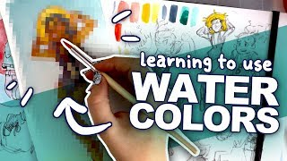 WILL I EVER LEARN?! | White Nights Watercolors | Beginner