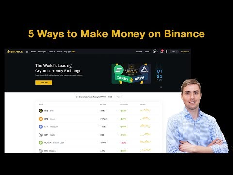 5 Ways To Make Money On Binance (Staking, Lending, Referral, Launchpad) 💸