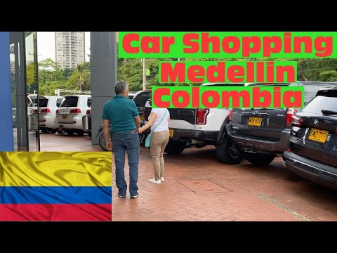 Car and Motorcycle Shopping in Medellin Colombia Good Deals