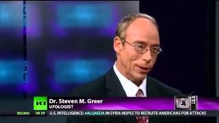 UFOs - RT RUSSIA TODAY Interviews Dr Steven Greer - 10th January 2014 thumbnail