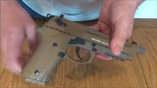Beretta m9A3 Pistol Review