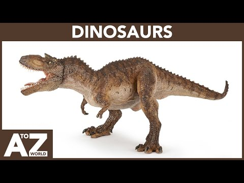 A To Z Of Dinosaurs | ABC Of Dinosaurs Starting From A To Z