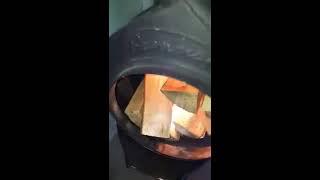 видео Булерьян Тип 04 - твердотопливная печь отопления