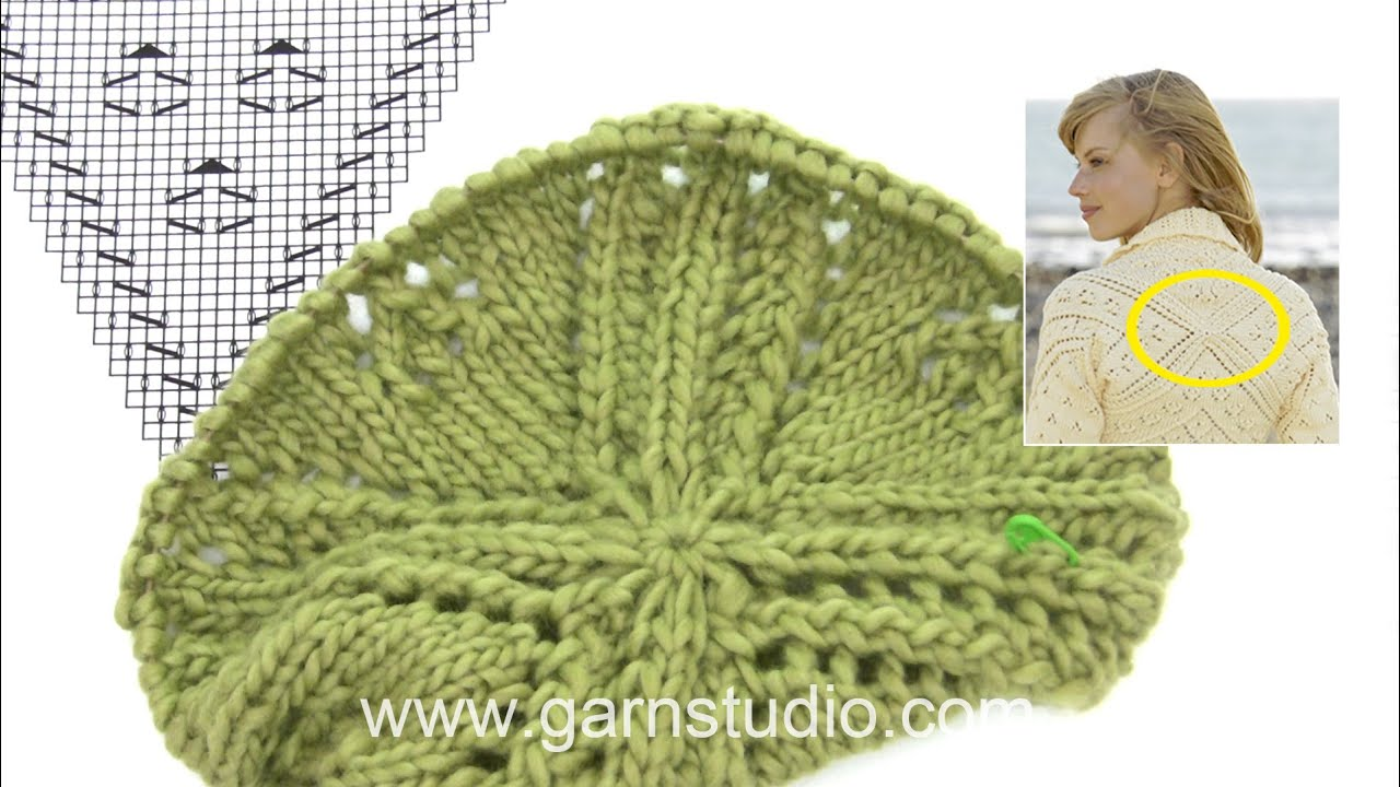 How To Knit A1 For The Bolero In Drops 170 5 Youtube