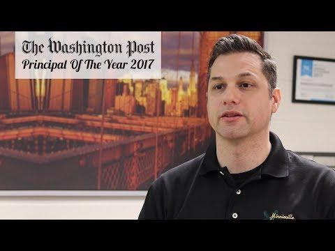 Washington Post Principal Of The Year 2017 | Nathaniel Provencio | Minnieville Elementary School