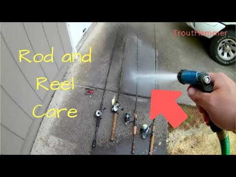 Tip - Caring For Your Rods and Reels After Saltwater Fishing