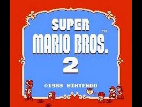 Super Mario Bros. 2 NES remake for 3DS Glitches.