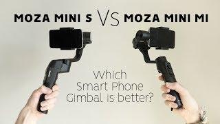 MOZA MINI S vs MOZA MINI MI - Which smart phone gimbal is better? Watch BEFORE YOU BUY