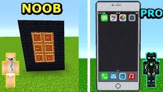 Minecraft NOOB VS PRO- JAK MIEĆ IPHONE W MINECRAFT?!