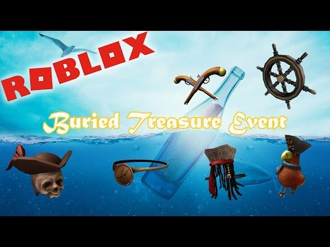 Roblox 2017 | Buried Treasure Event Items