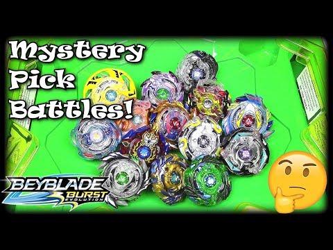 BEY-BATTLE MARATHON!! Mystery Pick Edition! Beyblade Burst Evolution SwitchStrike
