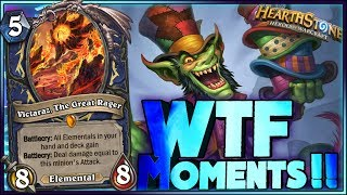 WITCHWOOD WTF Moments - Hearthstone Daily Funny Rng Moments