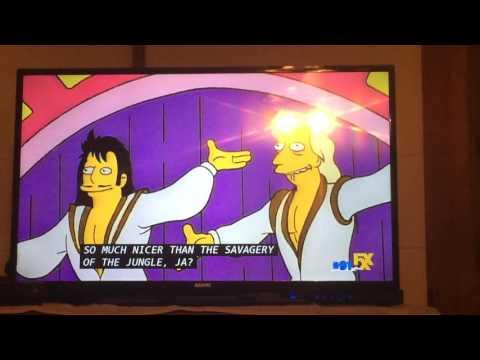 The Simpsons - Gunter & Ernst & the White Tiger Anastasia