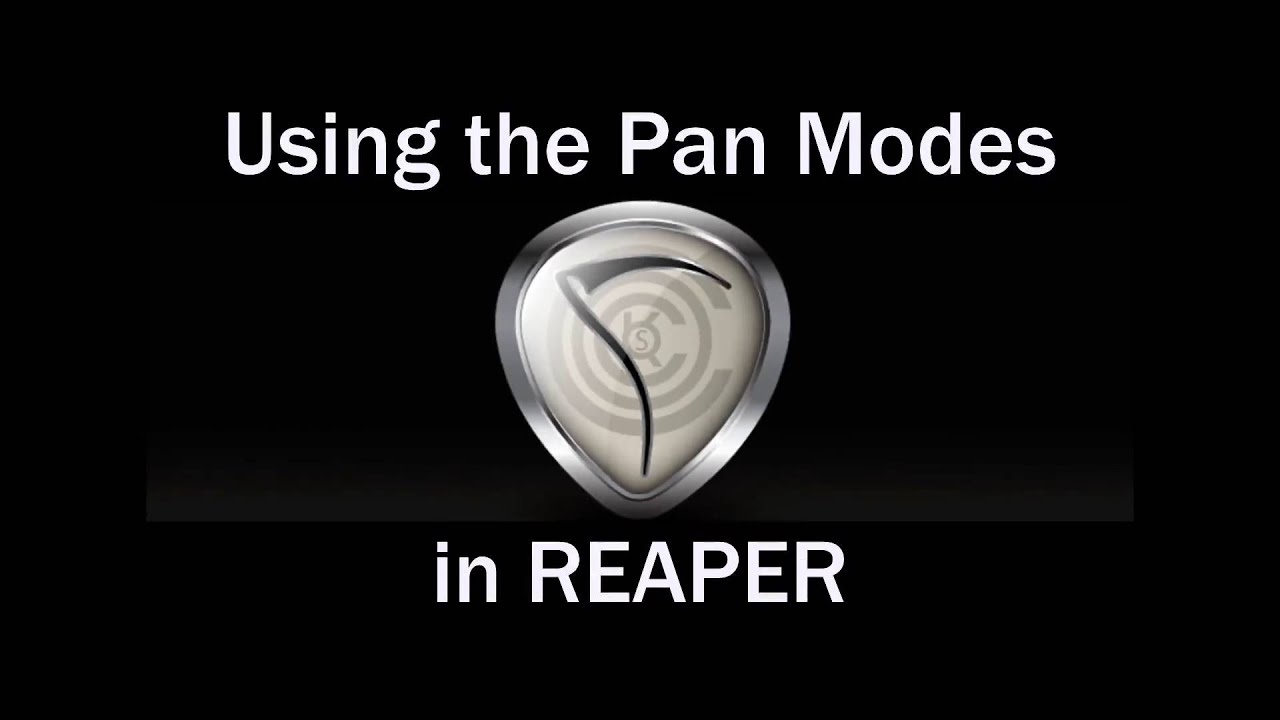 Using the Pan modes in Reaper - PG Music Forums