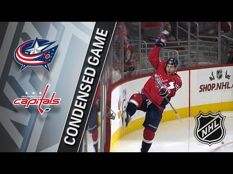 12/02/17 Condensed Game: Blue Jackets @ Capitals