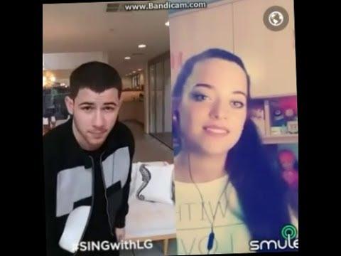 Jealous - Noelia Franco y Nick Jonas   SMULE