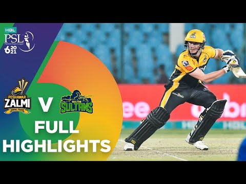 Full Highlights | Peshawar Zalmi vs Multan Sultans | Match 5 | HBL PSL 6 | MG2T