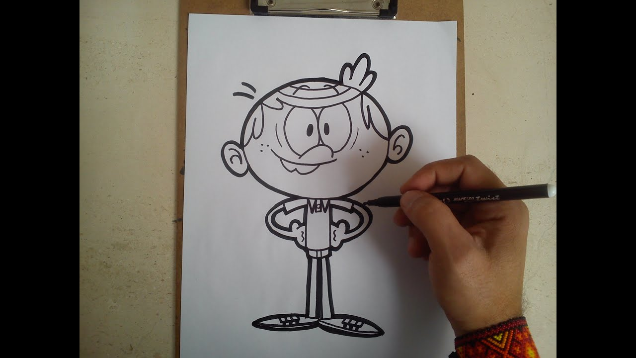 How To Draw Lincoln The Loud House Como Dibujar A Lincoln The