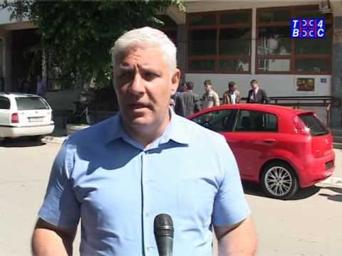 Bojnik, dodeljeno vozilo Punto Grande Policijskoj stanici (TV 4S 24.05.2016)