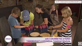 400 cukorbeteg gyerek táborozhat a közmédia támogatásával