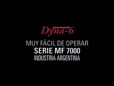 Dyna-6 en Serie MF 7000 / Facilidad de Uso