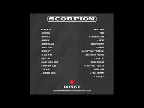 Drake - After Dark Ft. Static Major & Ty Dolla Sign (Scorpion)