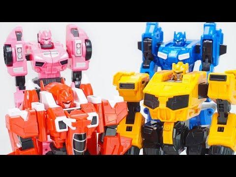 Miniforce X Commando X Machine 4 Combine Volt Bot Sammy Bot Lucy Bot Max Bot