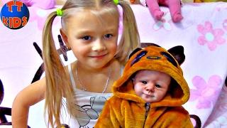 Обложка на видео о Little Girl Silicone Reborn Baby Doll | Силиконовая Живая Кукла Реборн Видео для детей
