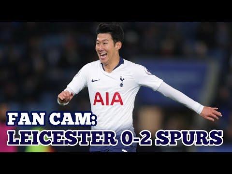 FAN CAM: Leicester City 0-2 Tottenham: Superb from Heung-Min Son / 손흥민 /孫興慜: 8 December 2018 Mp3