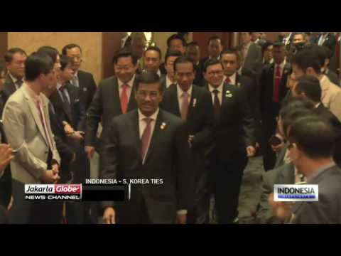 18 Billion Dollar Business Deal Between Indonesia And South Korea Announced