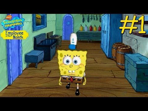 SpongeBob SquarePants: Employee of the Month - PC Walkthrough Gameplay Chapter 1