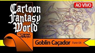 Cartoon-Fantasy-Welt - Folge 04 - der Goblin-Jäger - per LIVE-Stream auf der 23/08/19