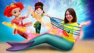 Веселые игры для девочек. Сказочный патруль в подводном царстве. Новые куклы и игрушки.