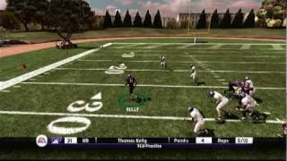 NCAA Football 11 (PS3) - Road to Glory, HB, Games 3 & 4 Highlights