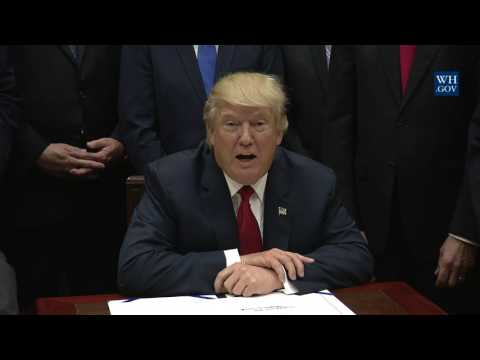 President Trump Signs S. 544 the Veterans Choice Program Extension and Improvement Act