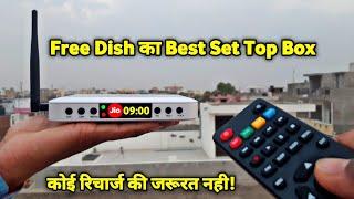 DD FREE DISH New HD Set Top Box 2020 | बिना रिचार्ज सभी चैनल फ्री देखो | Solid 6363 Set Top Box