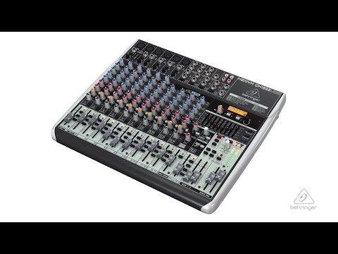 XENYX QX1832USB Small Format Mixer & USB Audio Interface