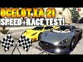 Das Beste Neue RACING BIEST OCELOT XA 21 Speed Race Test GTA 5 Online Gunrunning Update DLC mp3