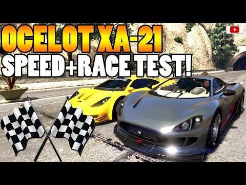 😍🏁Das Beste Neue RACING BIEST! OCELOT XA-21 Speed+Race Test!🏁😍 [GTA 5 Online Gunrunning Update DLC]