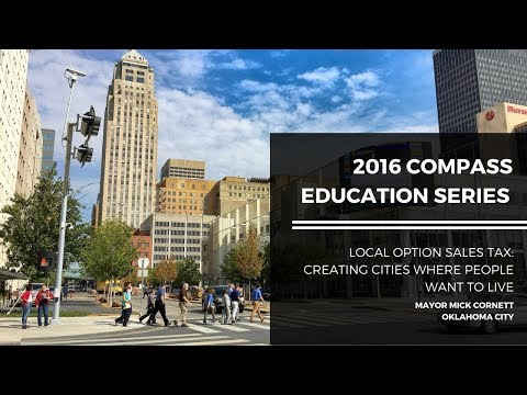 2016 COMPASS Education Series #1: Mayor Mick Cornett, Oklahoma City