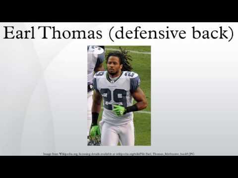 Earl Thomas (defensive back)