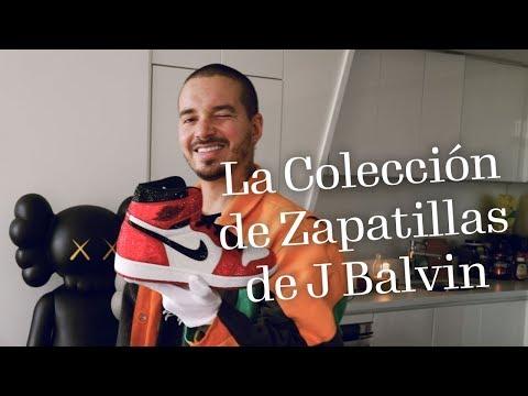 La Colección de Zapatillas de J Balvin | Footwear News