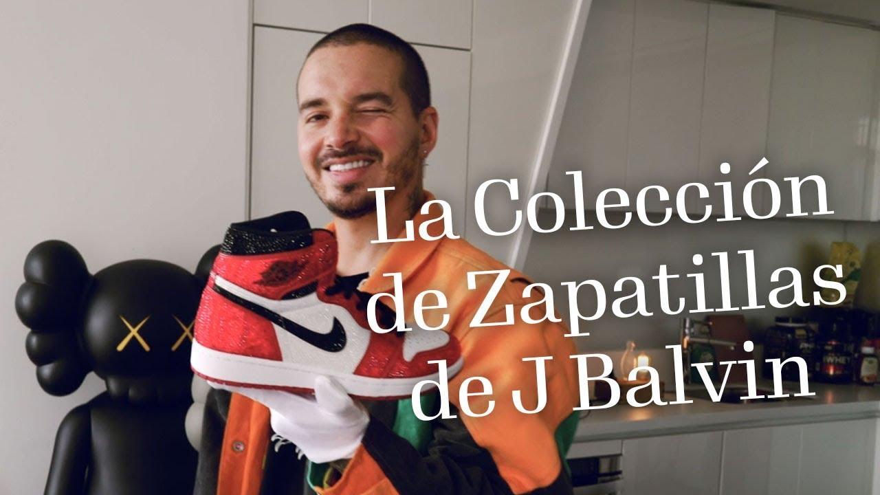 a7a4bf1d0b132 La Colección de Zapatillas de J Balvin