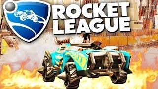 Rocket League - Квадратный мяч (ОБНОВЛЕНИЕ)!