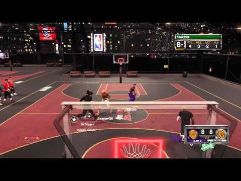 NBA 2K15 Fonk283 N TriggaP Vs Redcityboi N His Boys