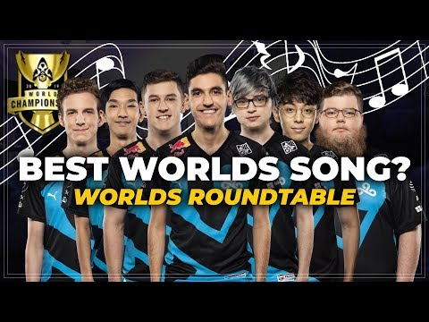 Which Worlds song is the BEST? | Cloud9 LoL Worlds 2019 Roundtable pt. 2