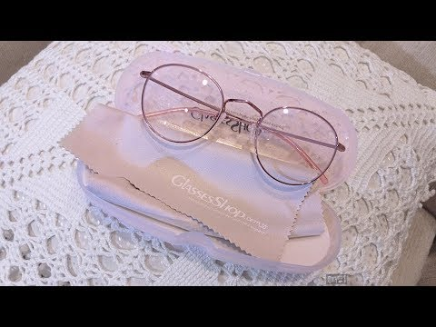 54d782ef6a 🍃 Minty Fresh Look Review Pale Pink Glasses